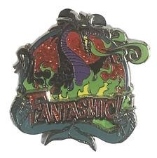Disney Pin WDW Fantastic Malefecent Dragon With Flotsam & Jetsam Villains