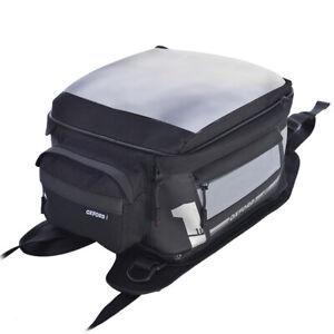 Oxford OL443 Medium 18L Strap On F1 Motorcycle Motorbike Black Tank Bag   New