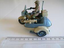 militaire moto - side car modele armee marron / bleu