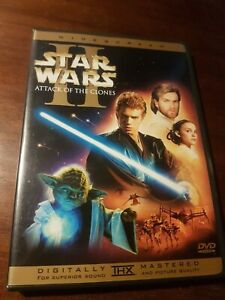 STAR WARS II 2 Attack Of The Clones 2 x DVD 2002 NTSC *REGION 1*