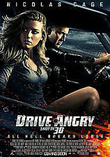DRIVE ANGRY NEW REGION 2 DVD