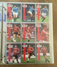 1990-91 football trade card Proset PRO SET Manchester United LEE SHARPE