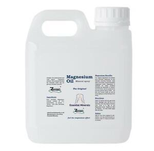 1kg  ZECHSTEIN MAGNESIUM OIL * PURE * MAX STRENGTH  *EXCELLENT VALUE