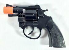 Super Cap Gun Toy Pistol Handgun 8 Shot Snub-nosed Revolver Military Police