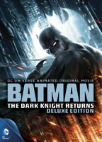 Batman: The Dark Knight Returns, Parts 1 / 2 (2 Disc, Deluxe Edition) DVD NEW