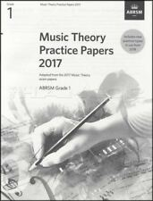 ABRSM Music Theory Practice Papers 2017 Grade 1 Past Exam Questions Music Book