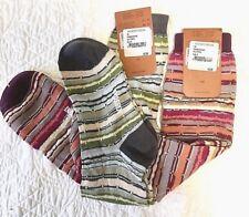 Missoni GM00CMU5233 0003 Turquoise//Green Striped Knee Length Socks for Womens