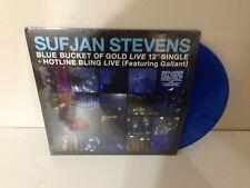 Sufjan Stevens Carrie and Lowell Live BLUE VINYL LP Record & MP3 bonus songs NEW