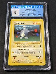 Pokemon TCG - CGC 9 - Magnemite - 4th Print Base Set 53/102