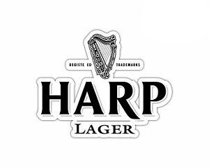 Harp Lager Beer Sticker Vinyl Decal 2-388