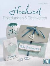 *Hochzeit Einladungen & Tischkarten*Bastelbuch*Top!*w. NEU!!!