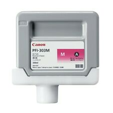 New Genuine Canon Magenta Ink Cartridge (PFI-303M) IPF810 IPF815 IPF820 IPF825