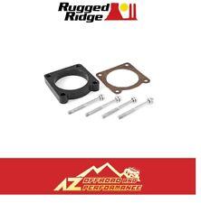 Rugged Ridge Throttle Body Spacer 07-11 Jeep Wrangler JK 3.8L V6 Black