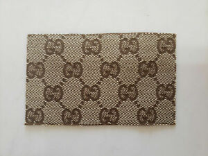 Gucci GG brown patch sew on or iron on