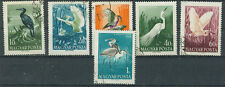 Briefmarken Ungarn 1959 Vögel Mi.Nr.1593-98