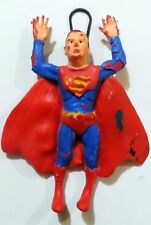 PUPAZZO GOMMA SUPERMAN RESTUCCIA LEGNOPLAST WIGGLERS VINTAGE MADE ITALY