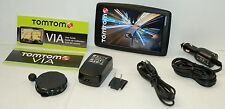 "NEW TomTom VIA 1605TM Car Portable GPS Navigator LARGE 6"" LIFETIME MAPS/TRAFFIC"