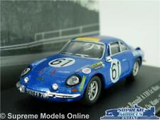 ALPINE RENAULT A 110 CAR MODEL 1:43 SIZE 1968 IXO ATLAS LE MANS 24 HOURS T3