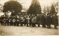 Thornbury near Almondsbury. Military Funeral of Pte Hector Penduck RAMC. Wreaths