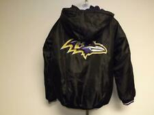 New Baltimore Ravens Mens Size L Large GIII Heavy Thick Full Zip Jacket