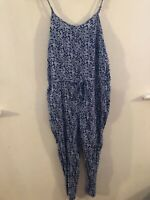 Originals multicoloured patterned sleeveless jumpsuit size 12