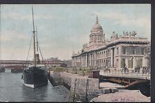 Ireland Postcard - Custom House, Dublin   RS5445