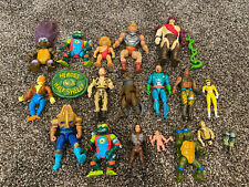 Mixed Vintage Action Figure Lot TMNT 80s 90s He-man Mixed Lot