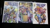 Shattered Image #1-3 High Grade Comic Book RM4-76