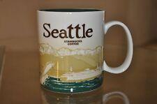 STARBUCKS Seattle Global Icon Series Collector Mug 16 fl oz NWT