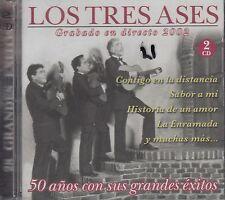 Los Tres Ases Grabando En Directo 2002 2CD New Sealed