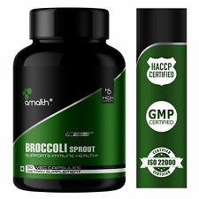 Pure Broccoli Sprout Extract Powder 0.4% Sulforaphane 1000mg Capsules