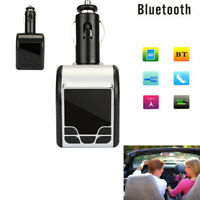 Remote Control Car Kit Bluetooth Wireless FM Transmitter Handsfree Radio Adapter