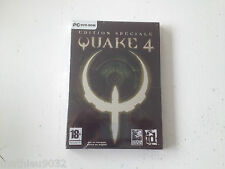 Quake 4 IV edition spéciale collector PC FPS FR NEW/NEUF/Blister