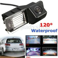 Car Rear View Reverse Reversing Camera Kit Night Version For VW Golf MK6 GTI MK7