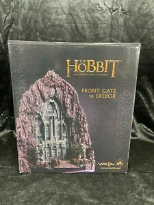 "WETA LORD OF THE RINGS THE HOBBIT ""FRONT GATE OF EREBOR"" ENVIRONMENT REPLICA"