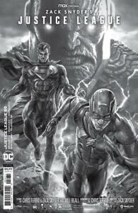 (2021) JUSTICE LEAGUE #59 1:50 LEE BERMEJO SNYDER CUT VARIANT COVER
