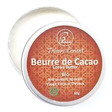 Beurre de cacao Bio 80g