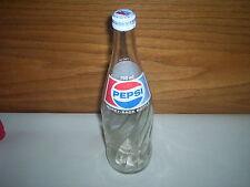 "Vintage Pepsi 750ml Canada Glass Soda Pop Bottle (11 3/4"" Tall) (Pepsi-Cola)"