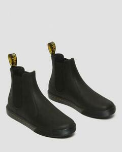 Dr Martens Makela Black Leather Chelsea Casual Boots for Everyday Style Women