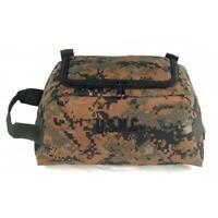 Genuine U.S. MARINE CORPS SHAVE KIT BAG - DIGITAL WOODLAND (Military Issue)