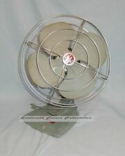 Terrific Vintage GE Tabletop Electric Fan Complete Great for Parts