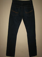 3P) MENS SLIM FIT STRAIGHT LEG NEW LOOK JEANS BUTTON  FLY WAIST 28R LEG 30