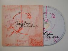 JANE BIRKIN : RENDEZ VOUS [ CD ALBUM ]