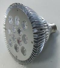 LAMPADA A 12 LED DA 1W ATTACCO E27 PAR38 LUCE B. FREDDO 6500K - 220V