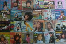 """7"""" 60s//70s KULTSAMMLUNG RARE! 24x7"""" MANUELA incl. Schuld war nur der Bossa Nova"""