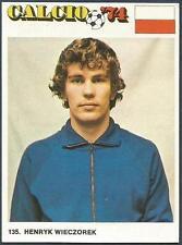 FIGURINA CALCIO 74-EDIRAF- #135-POLAND-HENRYK WIECZOREK