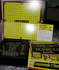 CROSSWORDS FOR DUMMIES GAME by PRESSMAN TOY CORP. 1998