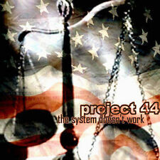 PROJECT 44 - The System Doesnt Work - CD near mint, will combine s/h