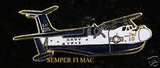 SP5 MARTIN PATROL SEAPLANE HAT LAPEL PIN VP-45 WW 2 USS PILOT CREW WOW