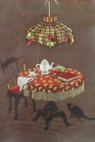 Sunset Stitchery Crewel Embroidery Kit TEA AND TIFFANY Vintage Kit Delightful